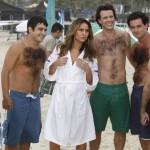 Sabrina com os homens