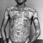 Hell'sFlame Tatuagens da Máfia Russa.