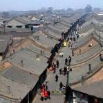 A Antiga Cidade de Pingyao fica no centro da província de Shanxi, no norte da China. A característica mais distinta daquela que foi a capital econômica durante as dinastias Ming e Qing,