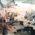 Baseada no leste do país, no no vale do Rio Amarelo; desde então teve início os elementos que dariam a característica singular da civilização chinesa