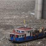 Lixo rio Yangtze, Yaching, O Rio Tietê, ainda não está assim, ainda...
