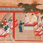 O nível mais elevado do sistema O Exame de Palácio em presença do Imperador.