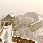 Inverno na China - A Grande Muralha