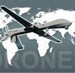 Mapa localiza bases aéreas que operam drones americanos