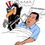 USA e Chávez, alguns dizem que a doença foi essa tal de USA...