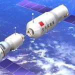 China-primeiro acoplamento espacial
