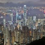 Hong Kong ao anoitecer - fantástico