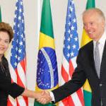 Prres. Dilma  e o vice Joe Bidem