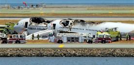 Acidente aéreo no aeroporto de San Francisco – EUA