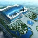 No imóvel haverá escritórios, salas de conferências, um complexo universitário, dois shoppings etc.