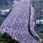 China mega congestionamento