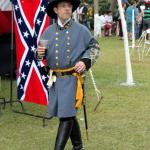 Soldado confederado - festa dos Confederados no Cemitério do Cmpo -SBO