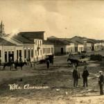 Parte baixa beirando a Estrada de Ferro e o Rio Quilombo