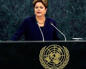 """O Brasil é o primeiro """"ONU"""" (联合国)"""