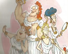 Aquiles se vestiu de mulher…