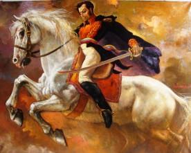 Simón Bolívar juramento de heroi